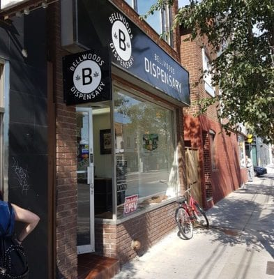 Bellwoods-Dispensary-raided-weed