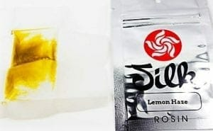 Silk Lemon Haze Rosin