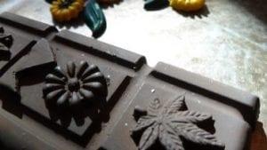 Thunder Bar - Pure Dark Chocolate 18mg Cannabis Infused THC