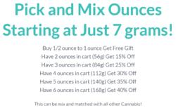 get kush pick and mix ounces