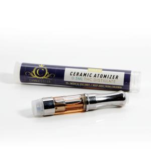 Cannaisseur THC Distillate - Indica & Sativa Cartridges