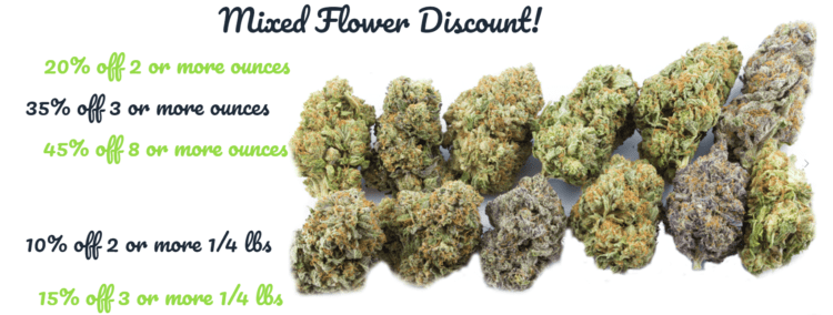 mixed flower discount canna wholesalers