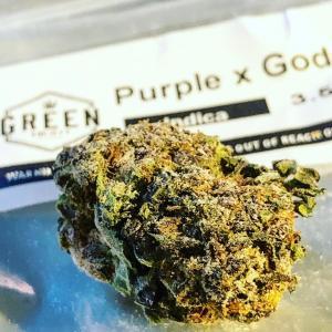 Purple x God Cannabis/Marijuana Strain Review