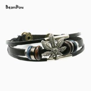 Retro leather bracelet