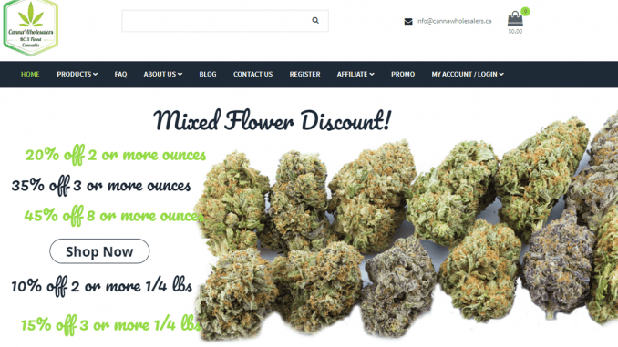 Buy Weed Online at Canna Wholesalers Cheap Marijuana Order