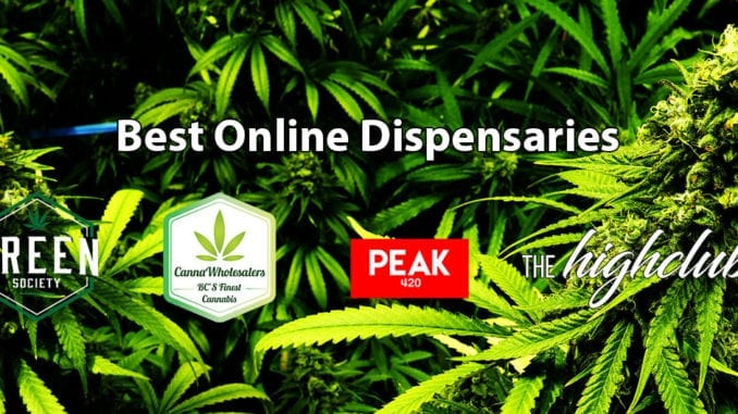 best dispensaries across canada green society cannawholesalers peak420 thehighclub