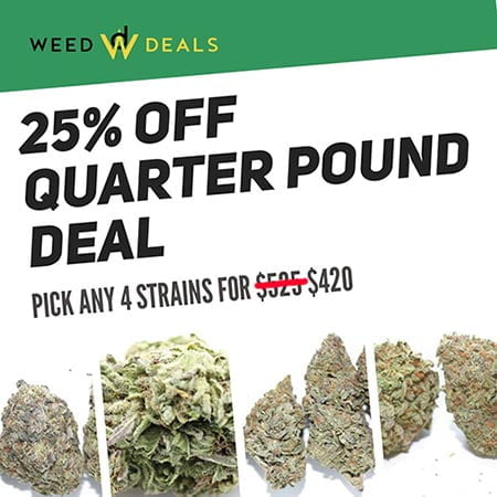Build Your Own AAAA Quarter Pound Of Weed