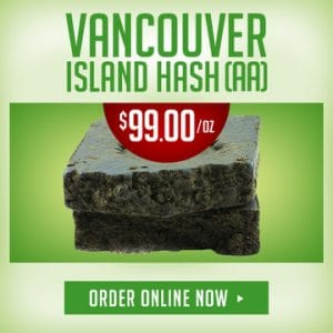 Vancouver Island Hash (AA)