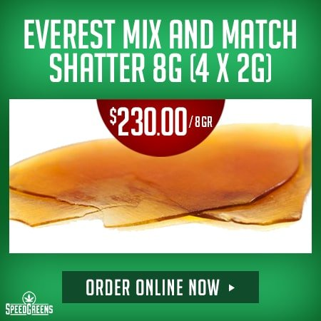 DispensaryGTA - 450x450 EVEREST MIX AND MATCH SHATTER 8G