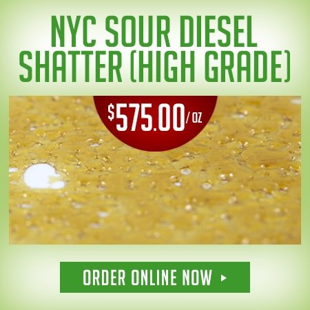 DispensaryGTA - 450x450 NYC Sour Diesel Shatter