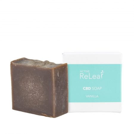Active ReLeaf Vanilla CBD Soap with 30mg Cannabidiol