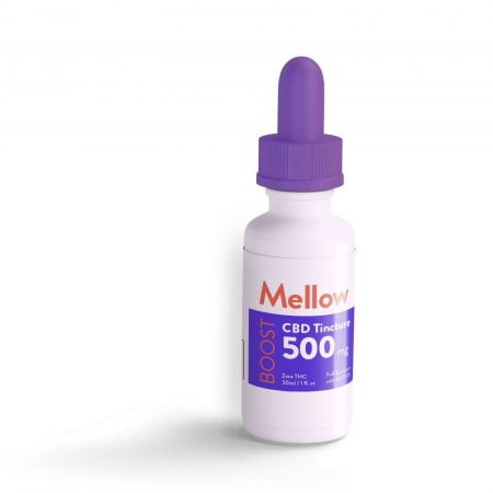Mellow Boost Full Spectrum Tincture 30ml with 500mg CBD