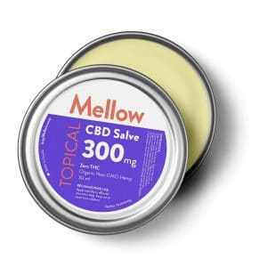Mellow All-Purpose Topical Cannabidiol Infused Salve 1oz with 300mg CBD