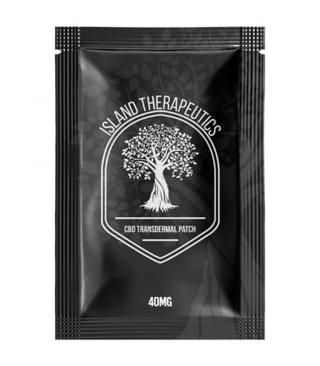 Island Therapeutics CBD Transdermal Patch with 40mg Cannabidiol