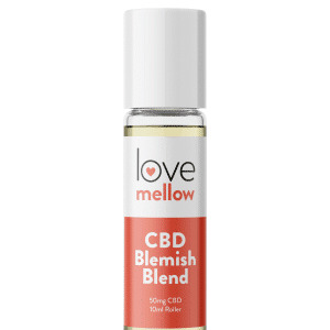 Love Mellow CBD Blemish Blend 10ml Roller with 50mg of Cannabidiol