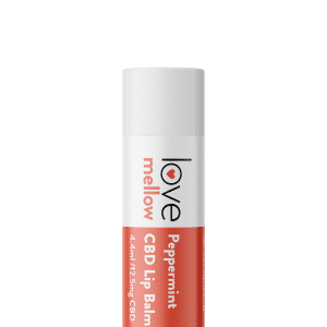 Love Mellow Peppermint CBD Lip Balm 4.4ml with 12.5mg of Cannabidiol