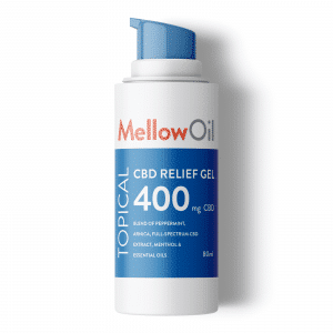 Mellow Oil Topical CBD Relief Gel 80ml