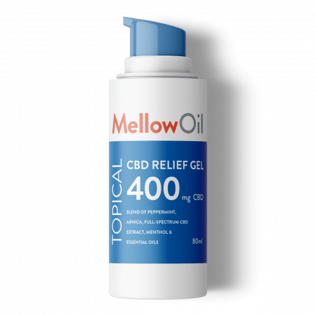 Mellow Oil Topical CBD Relief Gel 80ml