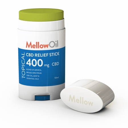 Mellow Oil Topical CBD Relief Stick 50ml