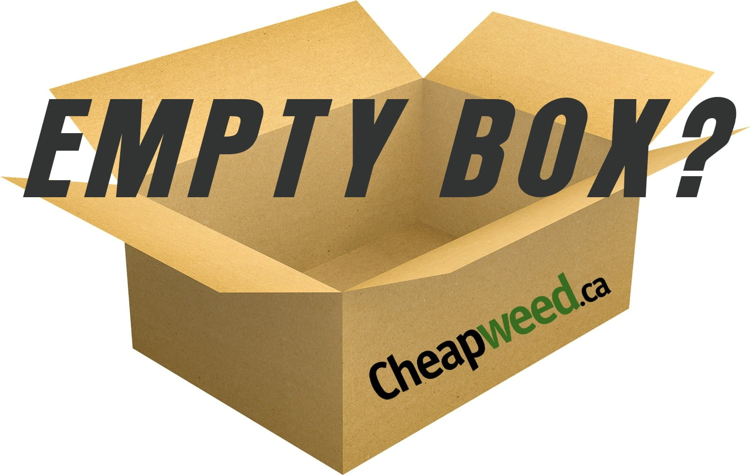 Missing product from CheapWeed ca? Empty box? What is going on?