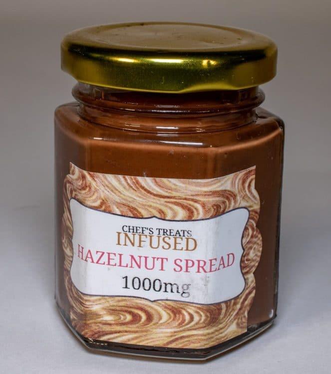 Hazelnut 1,000mg THC Infused Spread
