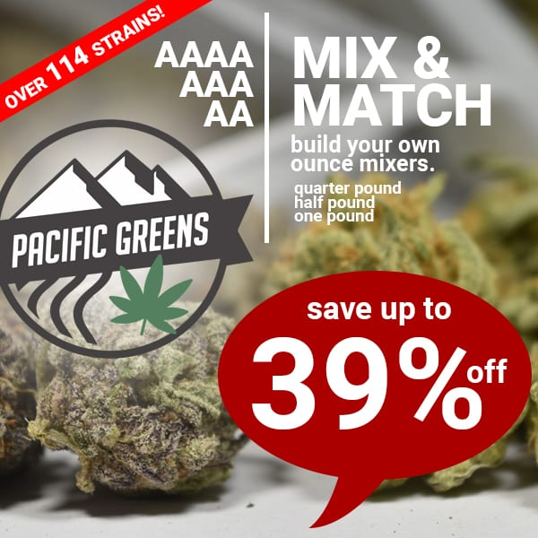 pacific greens mix and match