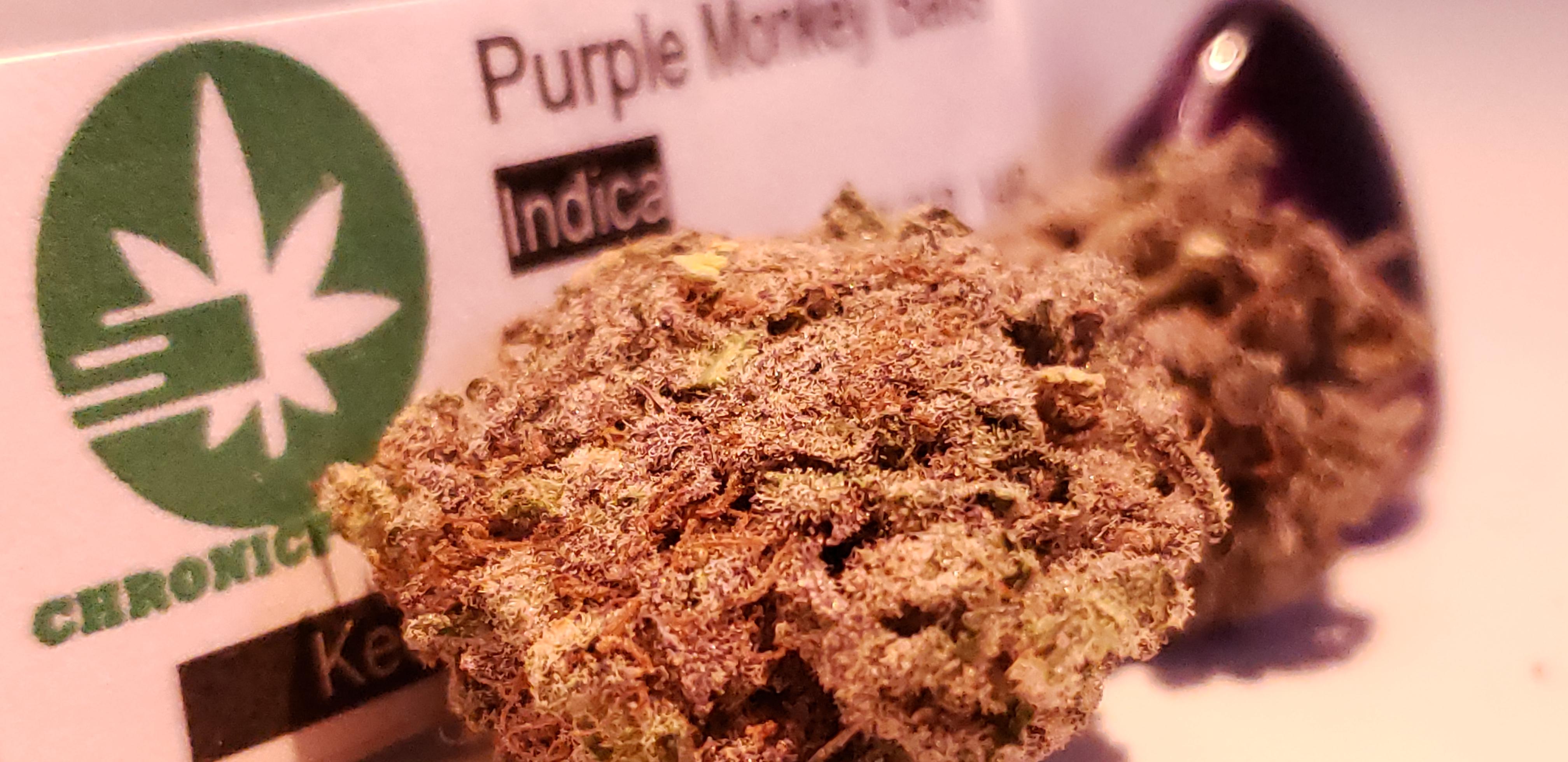 Chronic Post's Purple Monkey Balls