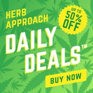 herb approach daily weed deals